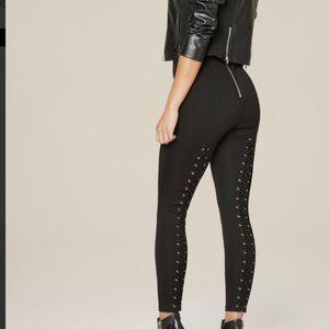 Back lace up leggings